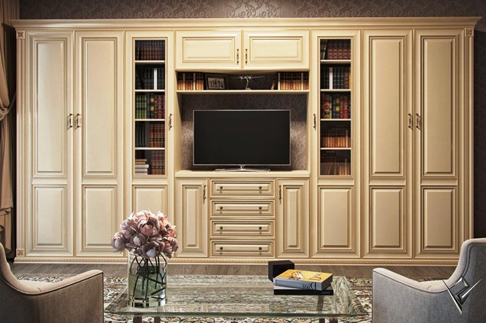 фото стенки для гостиной классические