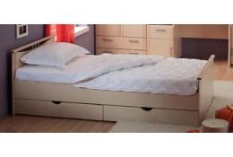 Кровать Мелисса с 2-мя спинками и ящиками 900