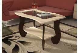 Журнальный стол № 3 с прямоуг. стеклом