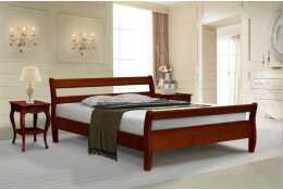 Кровать с высокой спинкой Эльба-1