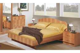 Кровать Светлана (миланский орех)
