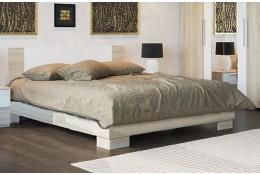 Кровать двуспальная Лагуна 2 МДФ