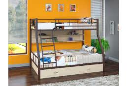Металлическая двухъярусная кровать Гранада П/Я