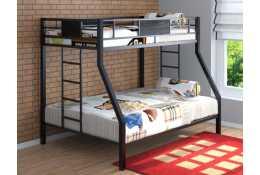 Металлическая двухъярусная кровать Гранада большой размер