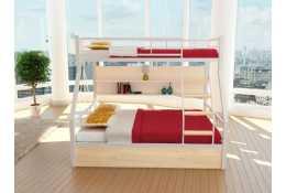 Металлическая двухъярусная кровать Олимп-1 комплект 4