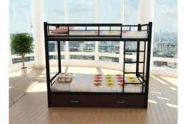 Металлическая двухъярусная кровать Олимп-2 комплект 1