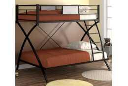 Металлическая двухъярусная кровать Виньола