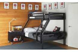 Металлическая двухъярусная кровать Престиж