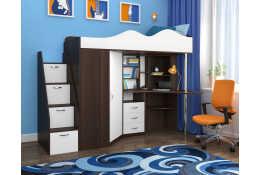 Кровать чердак Пионер