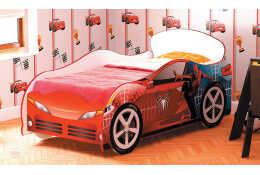 Кровать машина человек-паук Омега-12