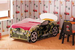 Кровать машина цвета хаки Омега-12