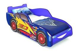Кровать машинка Маквин (синяя)