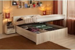 Кровать с подъемным механизмом Berlin (дуб)