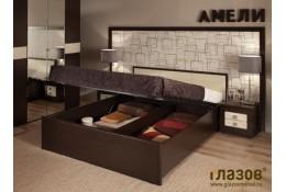 Кровать с подъемным механизмом Амели
