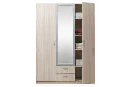 Шкаф 3-х дверный эконом с зеркалом