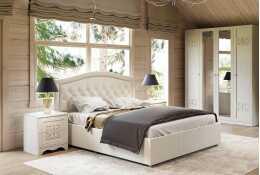 Кровать Адель с мягкой спинкой