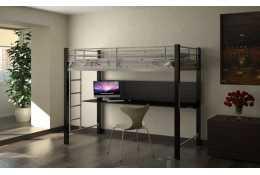 Металлическая кровать чердак Градо