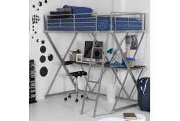Металлическая кровать чердак Градо 3