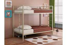 Металлическая двухъярусная кровать Вега