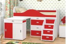 Кровать чердак Малыш люкс
