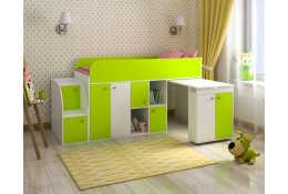 Кровать чердак Малыш-3