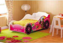 Кровать машина Маша и Медведь Омега-12