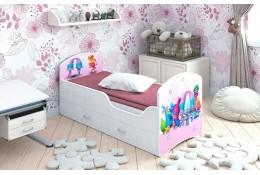 Кроватка с ящиками Тролли