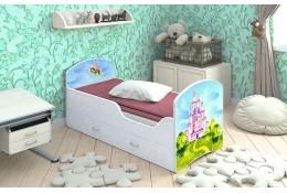 Кроватка с ящиками Феи