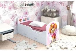 Кроватка с ящиками Щенячий патруль