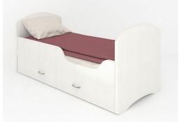 Кроватка с ящиками Classic белая