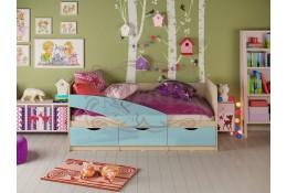 Детская кровать Дельфин глянец (МИФ)