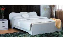 Кровать-1 с фигурной спинкой