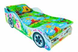 Детская кровать-машина Принцесса