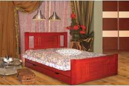 Кровать Дали-1 (c ящиками)
