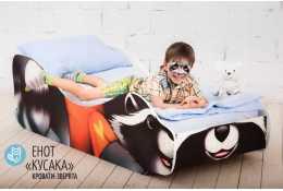 Детская кровать Енот - Кусака