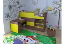 Кровать чердак Малыш большой 800*1800