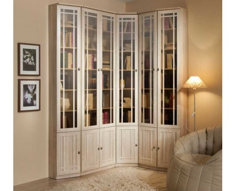 Модульная библиотека Sherlock (дуб сонома)