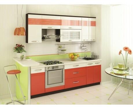 Кухня Оранж-9 модульная