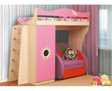Кровать двухъярусная Д1 (стандарт)