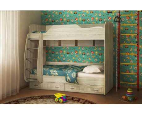 Двухъярусная кровать ДН-84