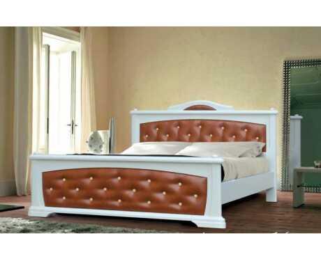Кровать Амазонка-1 (кожа)