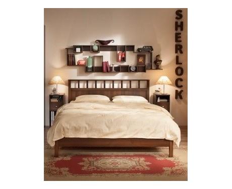 Кровать Sherlock Люкс (орех шоколадный)