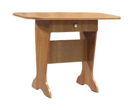 Стол обеденный с ящиком