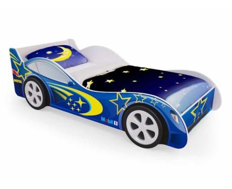 Кровать машина Синяя