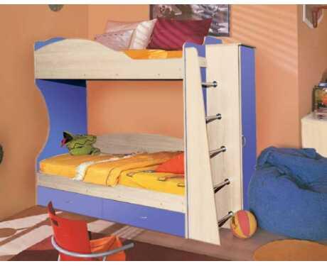 Кровать двухъярусная Командор-1