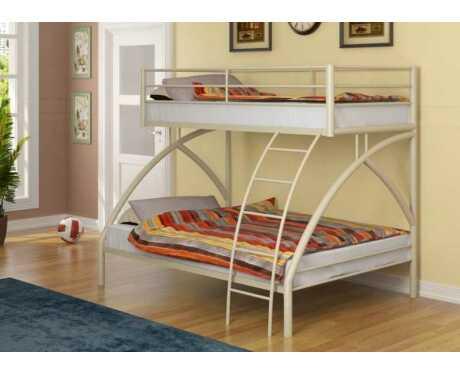 Металлическая двухъярусная кровать Виньола 2