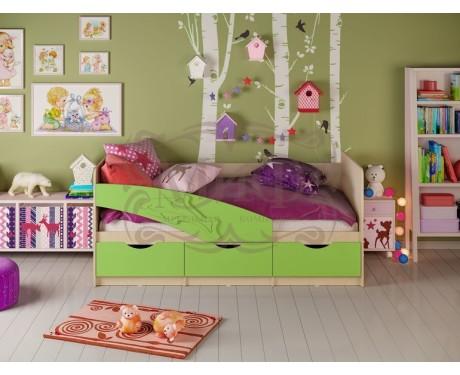 Детская кровать Дельфин матовый (МИФ)