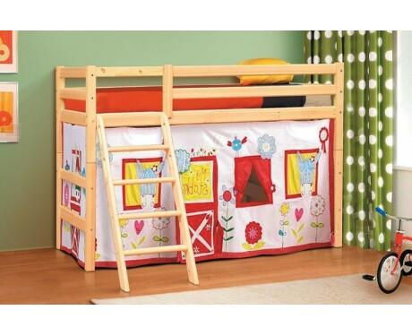 Кровать из массива вариант №6 Омега-14