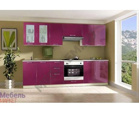 Модульная кухня Шанталь 2 Малина