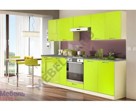 Модульная кухня Шанталь 2 Лайм